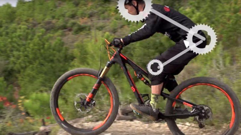 La position idéale en Mountain Bike