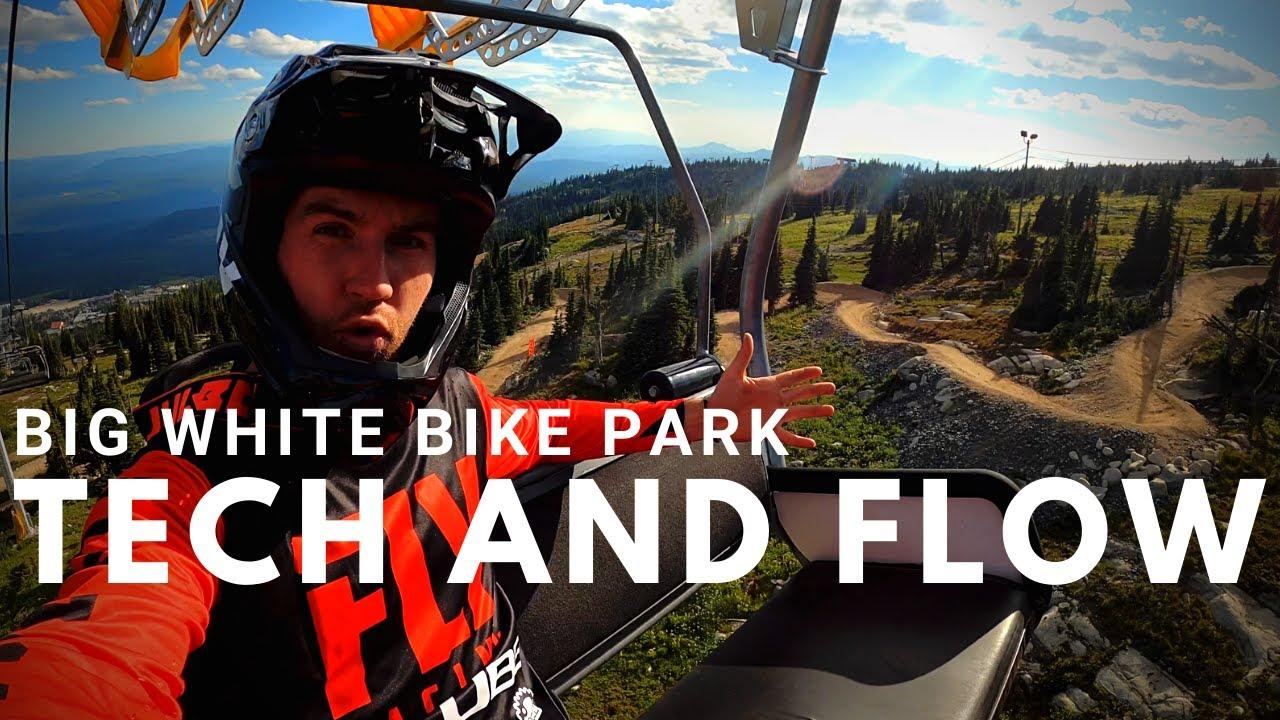 Big White Bike-Park en compagnie de la fusée Rémy Métailler