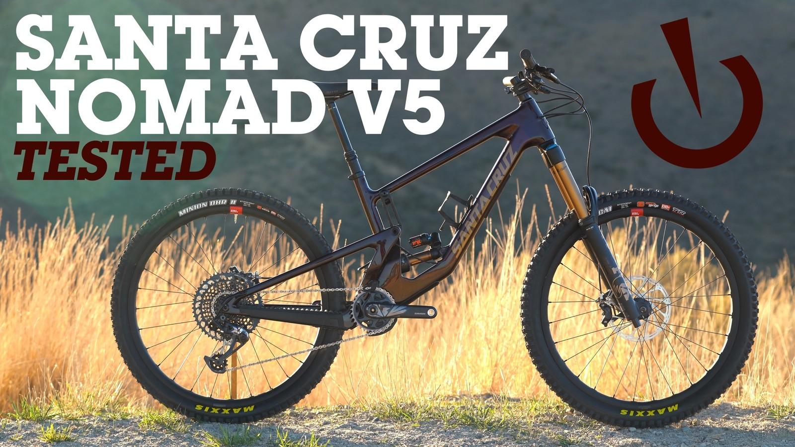 Santa Cruz dévoile sont nouveau Nomad V5